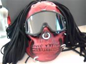 JT PAINTBALL Paintball RED MASK WITH HAIR